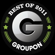 "We won the ""best Of Groupon"" award for 2011!"